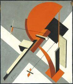 El Lissitzky (1890-1941) proun 구성주의/ 작품에 곡선과 직선을 잘 활용해서 흥미로운 구성을 보인다. 입체물로 만들었을 때 조화로운 건축물 처럼 보이게 만들 수 있을 것 같다.