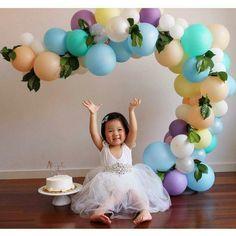 Наши шарики - великолепное оформление детской фотосессии! Спешите сдел