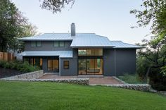 Contempary Homes With Metal Roof Standing Seam Metal