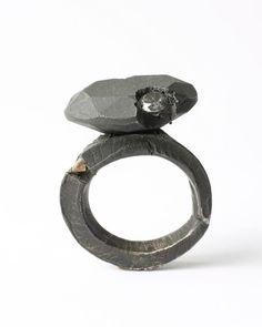 By Karl Frisch. Silver, diamonds. 2008.