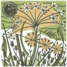 Winter Spey III - wood engraving print by Angie Lewin - printmaker Lino Art, Woodcut Art, Linocut Prints, Art Prints, Angie Lewin, Guache, Quilling Designs, Wood Engraving, Textures Patterns