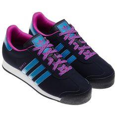 purple suede samoa adidas