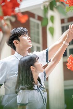 Extraordinary you ( Haru e Dan-oh ) Drama Korea, Korean Drama Movies, Web Drama, Drama Film, Kpop Couples, Cute Couples, Korean Celebrities, Korean Actors, Korean Couple