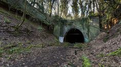 Lead up to the disused tunnel. Closed in the Derbyshire, Nottingham, Abandoned, Caves, Victoria, Photos, Left Out, Pictures, Blanket Forts