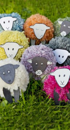 Join the project and contribute to a large scale art installation made up of thousands of woolly pom-pom sheep! Schools, groups, organisations and individuals are all invited to take part by making sheep & flocks for the installation. The project's aim is to encourage creativity and collaboration while raising awareness and celebrating the sheep farming & wool industry.