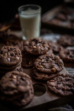 Malted Hazelnut And Nutella Chocolate Chip Cookies