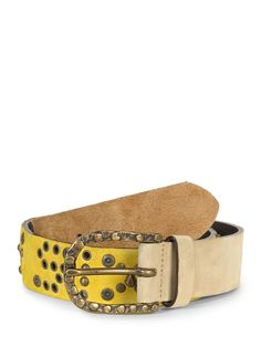 160 kr (650) Miss Sixty Leather Belt yellow DKK 159.99 | -75% buy cheaper