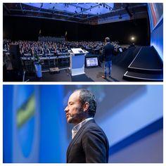 Vortrag vor 500 TeilnehmerInnen zur Digitalisierung der Küchenbranche