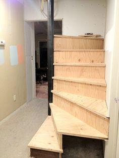 Spiral Staircase Construction