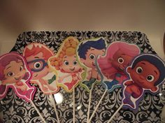 BUBBLE GUPPIES Birthday Party Centerpiece 6 by InspirationsToCraft,