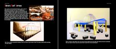 Here I added images of my library project, showing my inspiration, drawing and photoshopped model image.