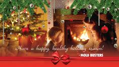 Happy holidays from the Mold Busters team! #MerryChristmas #hello2015 #HappyNewYear