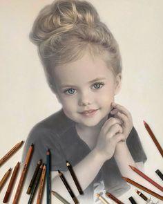 Hyperrealism Paintings, Hyperrealistic Drawing, Colored Pencil Portrait, Color Pencil Art, Realistic Eye Drawing, Pastel Portraits, Marker Art, Sketch Design, Portrait Art