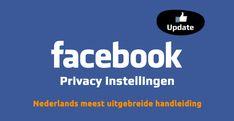 Handleiding Facebook privacy instellingen aanpassen
