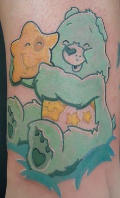 star care bear tattoos designs | Shady Smith - Care Bear