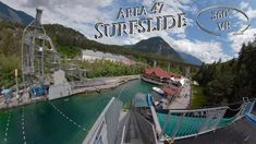 Area 47 2019 Surfslide 360° VR POV Onride Water Slides, Vr, Surfing, Surf, Surfs, Surfs Up