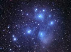 Astrophoto: Beautiful Electric Blue Pleiades