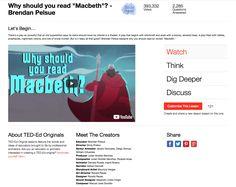 """Why Should You Read """"Macbeth""""?"""
