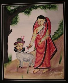 DEEZDEN: Kalighat Patachitras