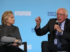 Bernie Sanders dismisses criticism in Hillary Clinton's new memoir and says she should move on from 2016
