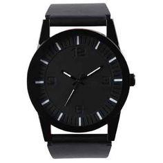 black style watch
