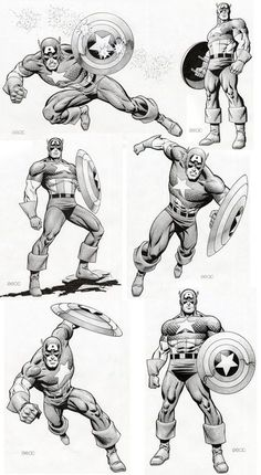 Captain America by Zeck