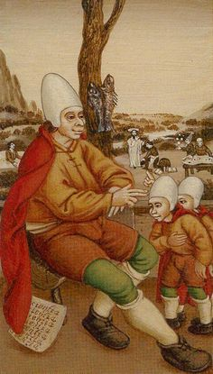The Hierophant Bruegel tarot