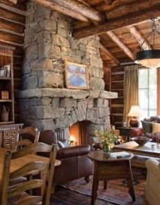 A roaring fire always effects the five senses; sight, vision, smell, touch, and hearing.