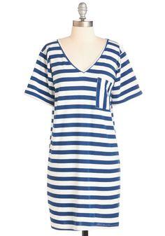 Free Afternoons Dress in Cobalt | Mod Retro Vintage Dresses | ModCloth.com