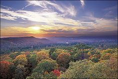 Arkansas Valley Region, an alluvial valley that lies between the Ozark Highlands and the Ouachita Mountains.