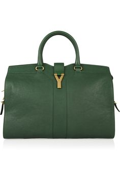 Yves Saint Laurent|Cabas Chyc Large leather tote|NET-A-PORTER.COM