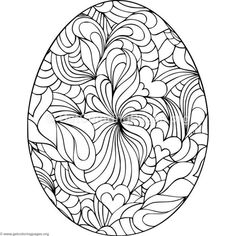 Free Printable Easter Egg Coloring Pages Coloring Book Sheets - Coloring Page Ideas Free Printable Coloring Pages, Free Coloring Pages, Coloring Books, Easter Egg Coloring Pages, Easter Egg Crafts, Bunny Crafts, Easter Decor, Easter Ideas, Egg Art
