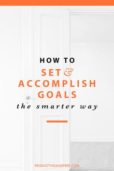 They always say work smarter, not harder. Having a good foundation for planning your goals is something you, as a new entrepreneur, should establish from the get-go. Check out: How to Set and Accomplish Goals the Smarter Way by Productive and Free. Business Goals, Business Management, Business Leaders, Time Management, Planners, Goal Setting Worksheet, Goal Planning, Personal Goals, Achieve Your Goals