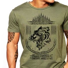 7d70ef5a6 kaos sakyant thailand · Muay Thai T-Shirt Yak Sant Thailand Thai Boxing  cotton Tee Best Martial Arts,