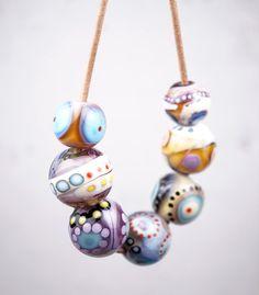 Murano Glass Jewelry // Lampwork Beads // Murano by melaniemoertel