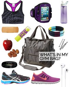 whats in my gym bag | What's in My Bag