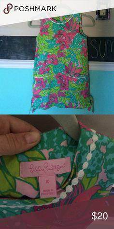 LILLY PULITZER DRESS It's a kids size 10, it's adorable as are all lily dresses!! Lilly Pulitzer Dresses Mini