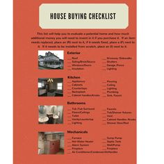 how to evaluate a house to buy