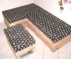 Sofa de Pallets (Pallet Sofa)