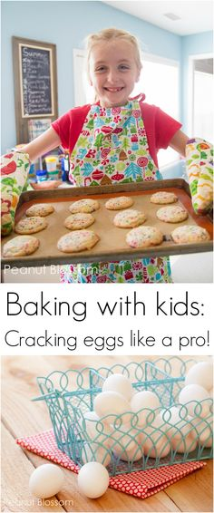 Baking with kids: 4 simple steps for teaching them to crack an egg like a pro!