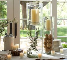 Top Fall Decorating Trends—Showcase Foliage in Hurricanes_Pottery Barn