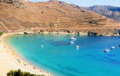 Ganema beach at Serifos