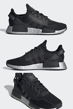 adidas' NMD line brought much fanfare to the German sportswear giant back in 2015 as it offered a sock-like, light-hearted take on the BOOST revolution popularized by the Ultra Boost. Since then, the silhouette has undergone countless color variations and slight structural modifications aiming to breathe new life into the futuristic sneaker.#adidasnmdr1 #adidasnmdr1outfit #adidasnmdr1mens #adidasnmdr1women #adidasnmdr1custom #adidasnmdr1black Adidas Nmd R1 Mens, New Life, New Trends, Futuristic, All Black Sneakers, Revolution, Breathe, Sportswear, German