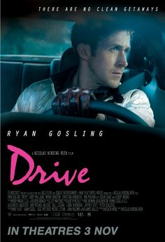 """Drive"" (Nicolas Winding Refn, 2011) con Ryan Gosling, Carey Mulligan y Albert Brooks."