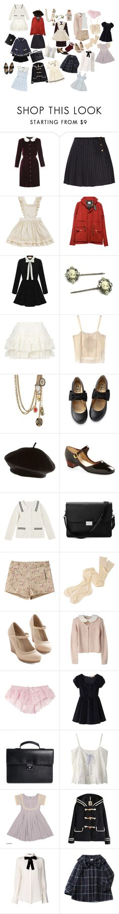 """""""Presh bb"""" by kyara-quesada ❤ liked on Polyvore featuring D&G, See by Chloé, Steven Alan, Cameo, Jill Stuart, Alexander McQueen, Lowie, Aspinal of London, Margaret Howell and Louis Vuitton"""