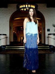 Angels by the Sea Tie Dye Maxi Tube Dress R164 [Blue] - Dress - Resort Wear   AlohaOutlet SelectShop