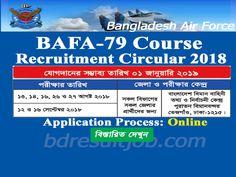 Bangladesh Air Force BAFA-79 Course Cadet Recruitment Circular 2018 Job Circular, Air Force, How To Apply