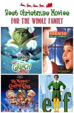 Take a break from the holiday bustle and snuggle up on the couch with some hot cocoa to enjoy these best Christmas movies for the whole family!
