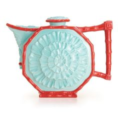 Franz  Collection Time Flower Teapot