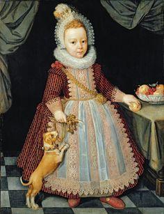 Пол ван Сомер (attr. Paul van Somer, с. 1576-1621, Flemish) - Портрет ребенка с погремушкой (Portrait of Lord Arundel). Обсуждение на LiveInternet - Российский Сервис Онлайн-Дневников